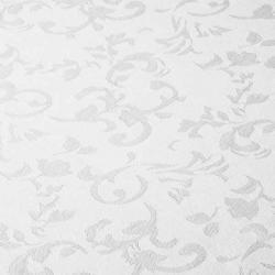Damaškový ubrus bílý vzor
